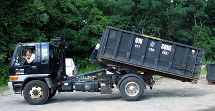 Residential dumpster rentals, South Shore MA